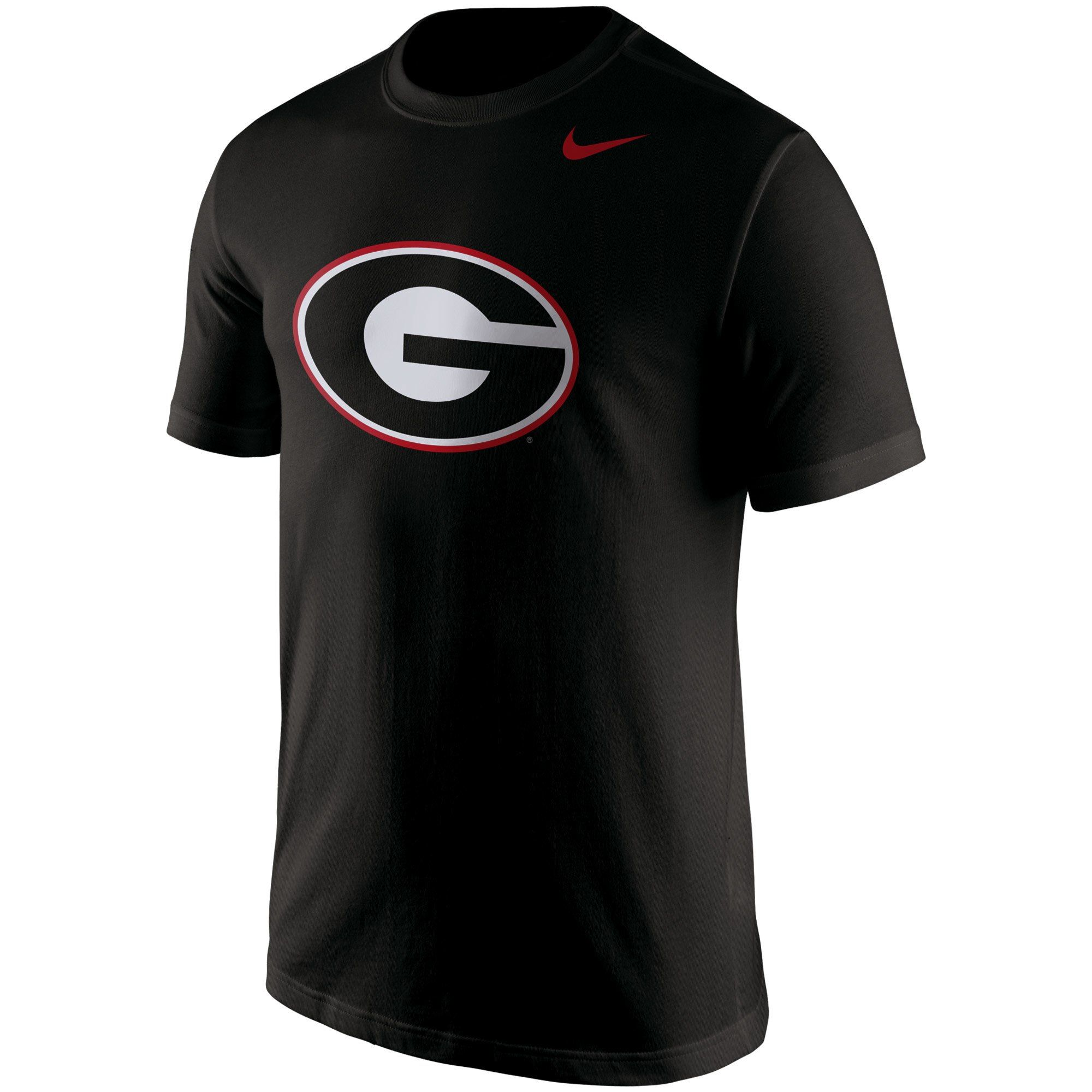 Nike Georgia Bulldogs Youth Black Cotton Logo T Shirt