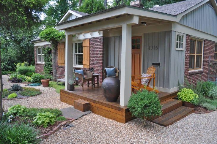 Porch Flat Roof Design Porch Design Front Yard Decor Small