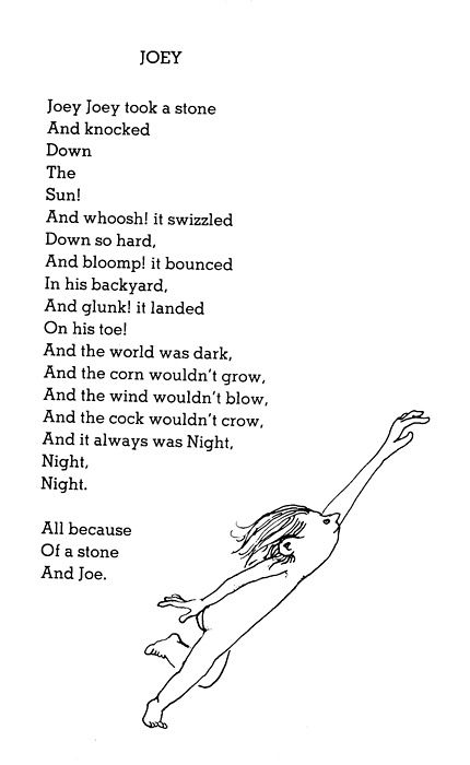 Shel Silverstein Love Poems 6