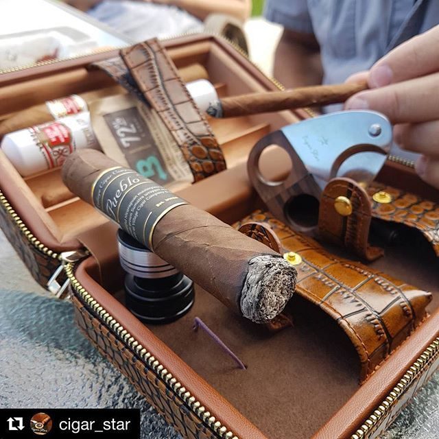 Awesome travel humidor  Carry all your cigar accessories and