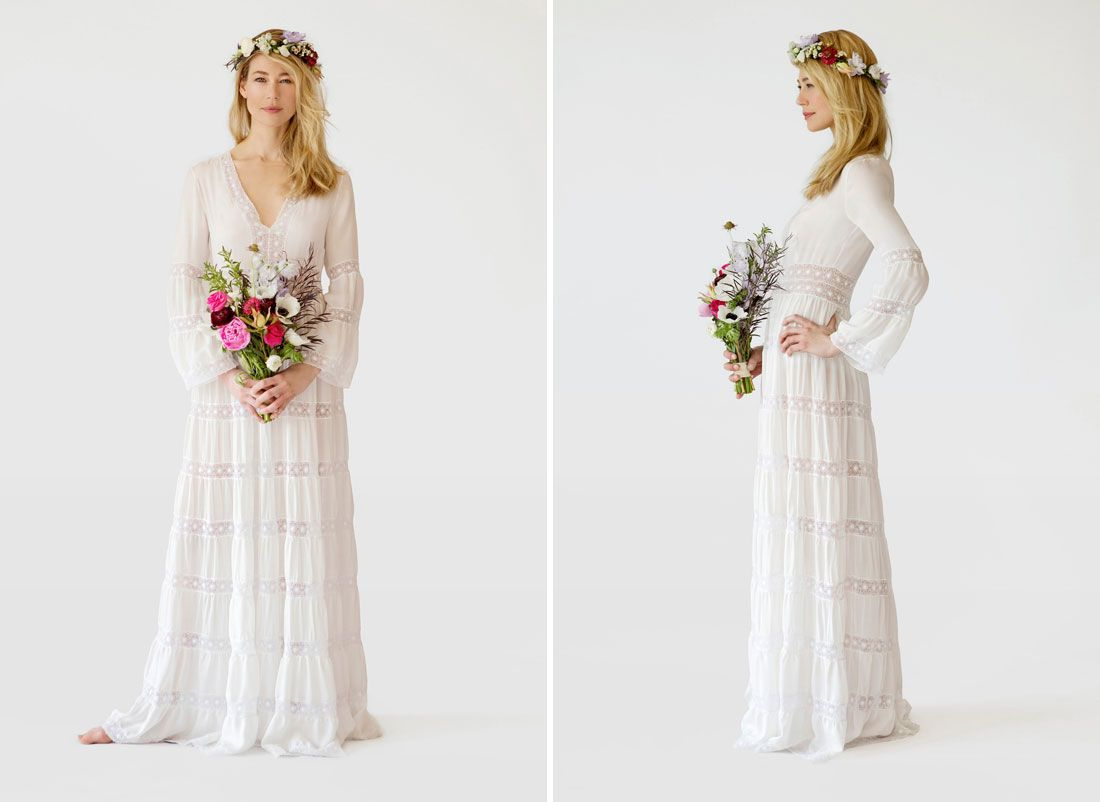 This Dress Is Perfect For The Boho Bride