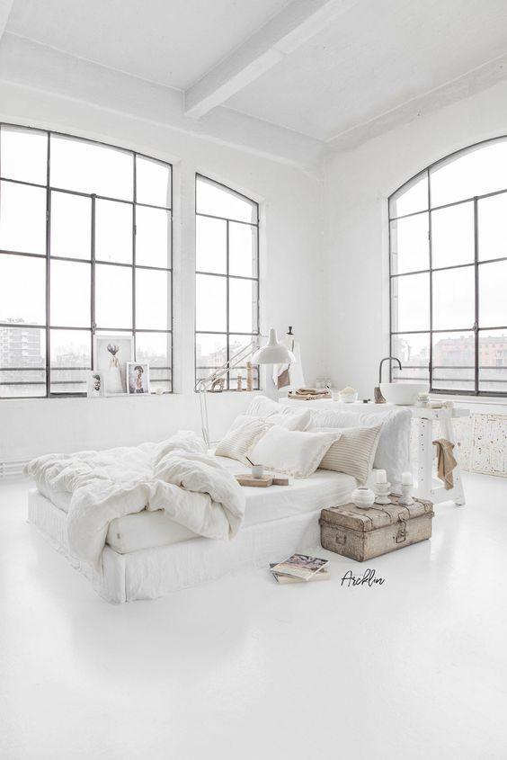 25 Minimalist All-White Room Decor Ideas to Inspire You #allwhiteroom