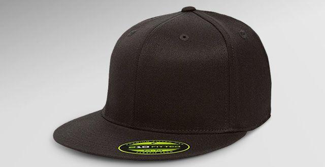 a751b46087a06 Flexfit Premium 210 Fitted Flat Brim Baseball Hat