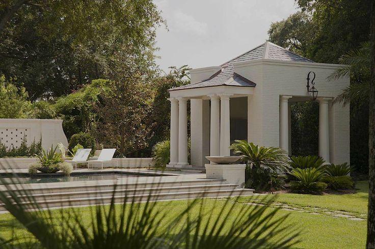 Kaiser trabue landscape architects pool houses
