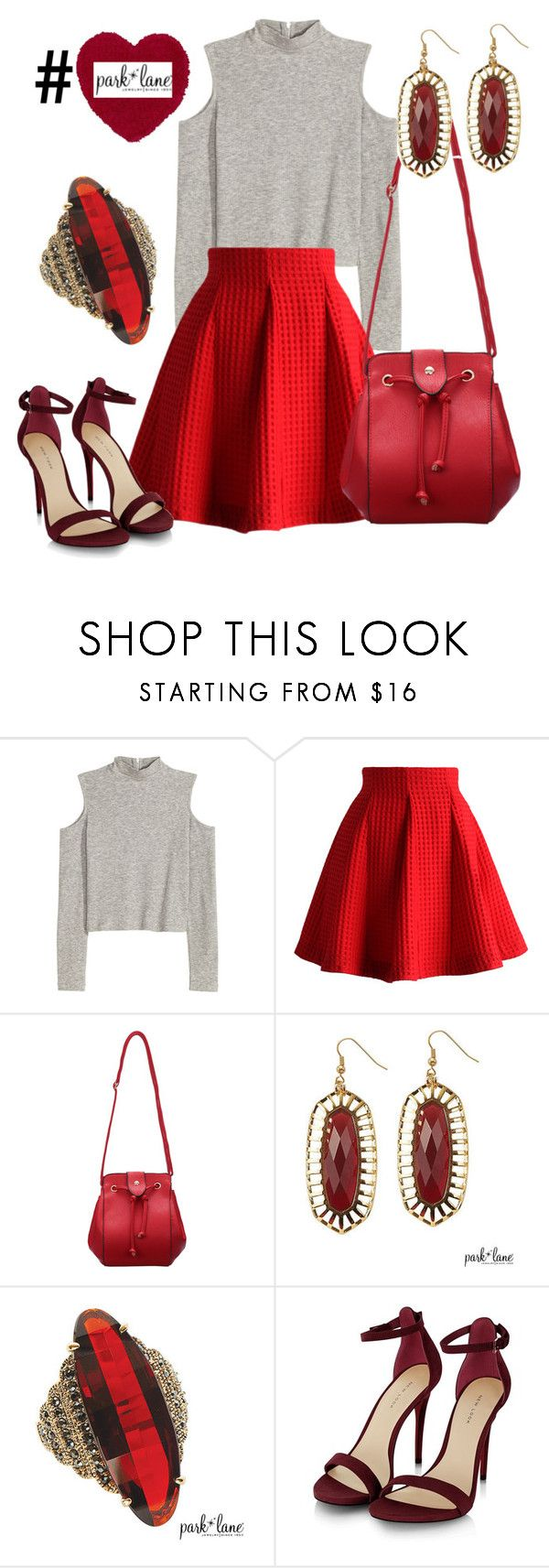 """""""#BeMine"""" by parklanejewelry on Polyvore featuring Chicwish, women's clothing, women's fashion, women, female, woman, misses, juniors and parklanejewelry"""