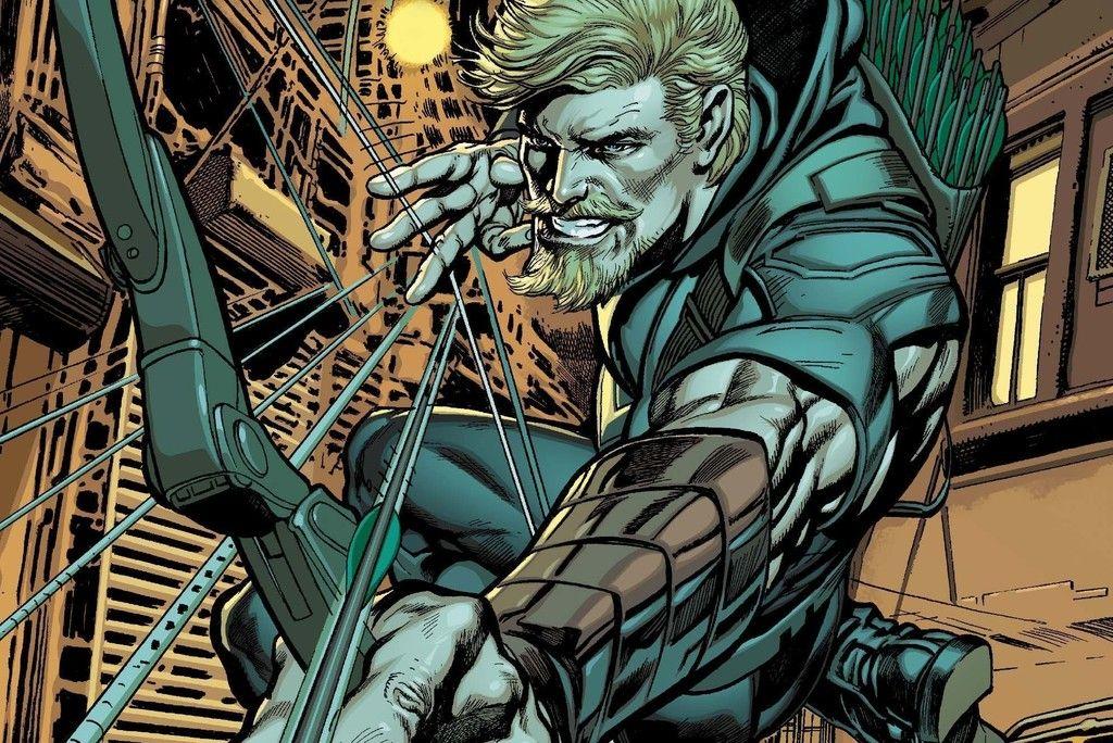 Green Arrow Superhero Comics Wallpaper