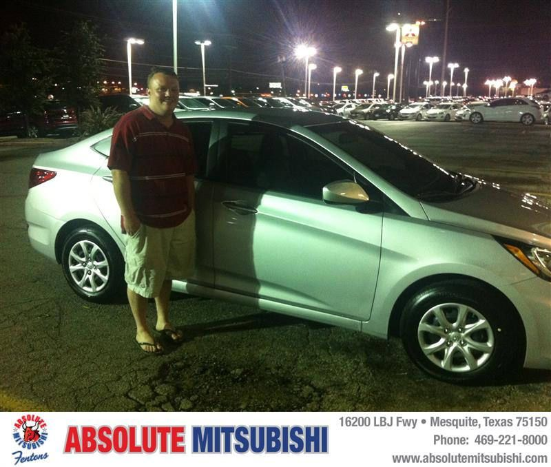 HappyBirthday to Wesley from Karen Dabney at Absolute Mitsubishi!