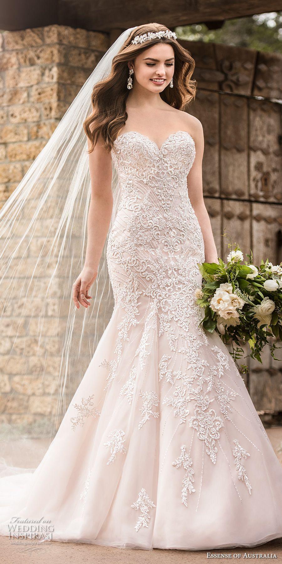 Essense Of Australia Fall 2017 Wedding Dresses Wedding Inspirasi Wedding Dresses Girls Bridesmaid Dresses Wedding Dresses Strapless [ 1800 x 900 Pixel ]