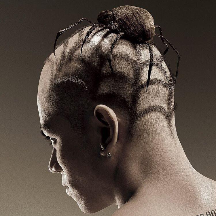 nice 30 Modern Crazy Hairstyles For Brave Men - Pure Art   tatuajes | Spanish tatuajes  |tatuajes para mujeres | tatuajes para hombres  | diseños de tatuajes http://amzn.to/28PQlav