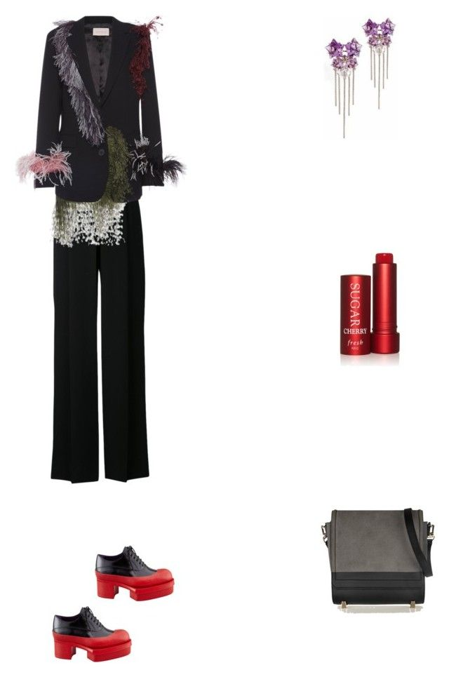 """""""Grace"""" by zoechengrace on Polyvore featuring Alexander Wang, Christopher Kane, Prada and Fresh"""