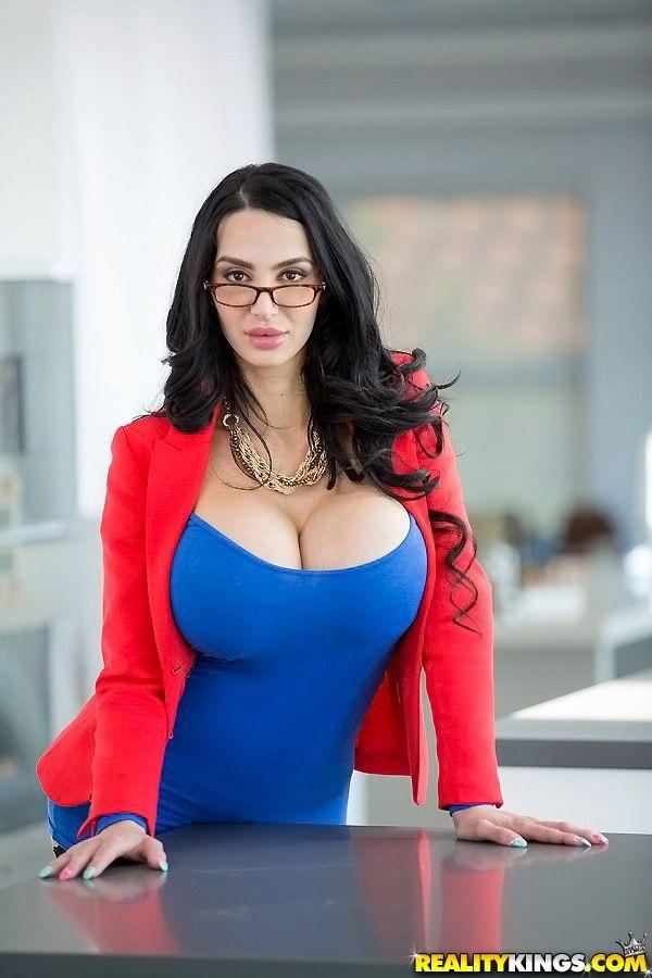 Bimboz Gorgeousdressed Amy Anderssen Hubbys New Secretary Uh Oh