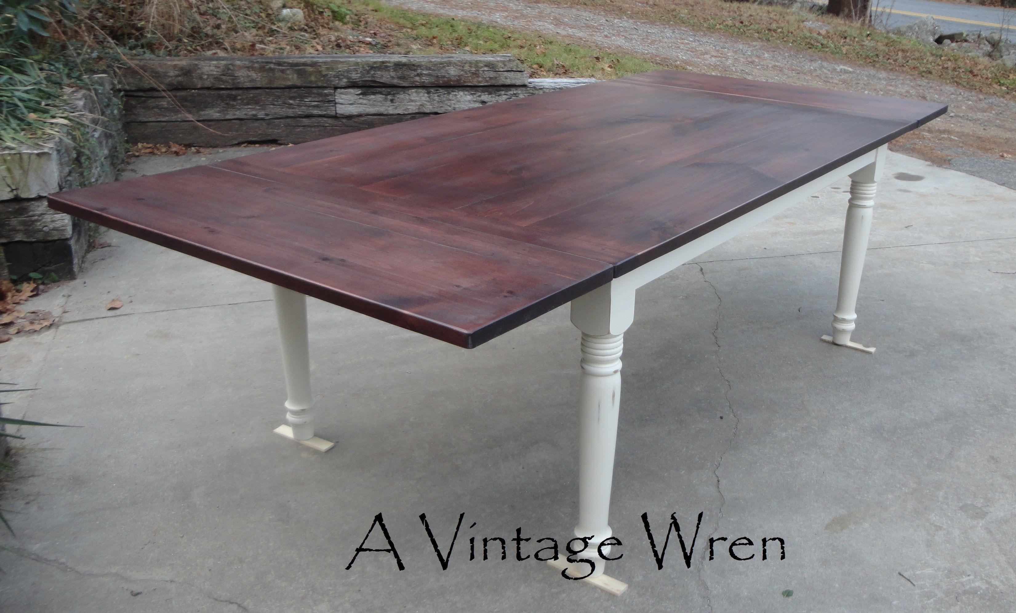 Custom Built Farm Table Made In New Hampshire Https