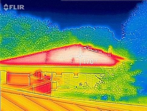 The Best Way To Cool Your Attic In 2020 Blown In Insulation Types Of Insulation Rooftop