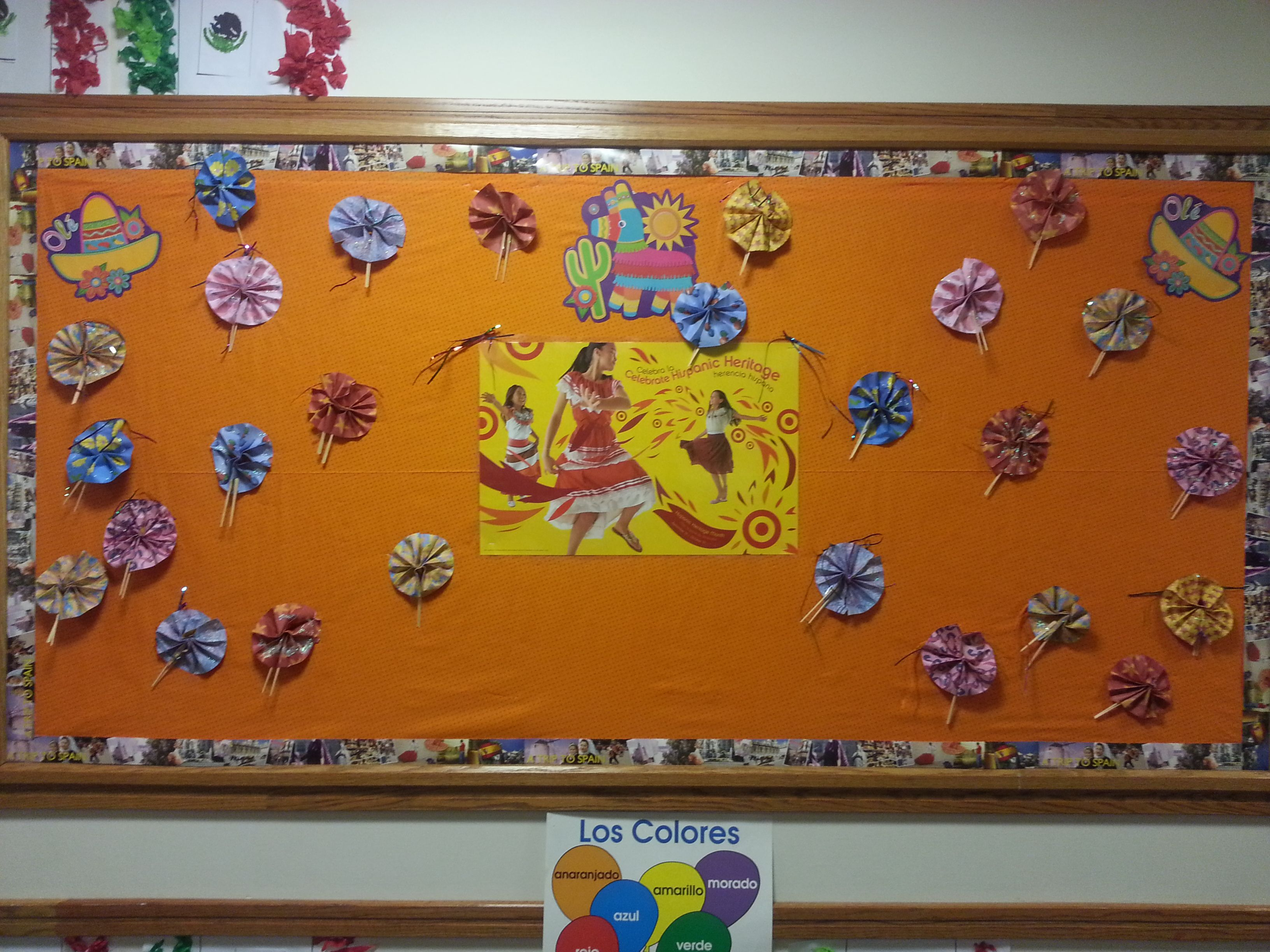 Bulletin Board Idea For Hispanic Heritage Month First