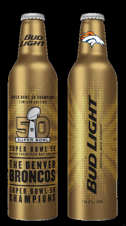 Bud Light Unveils New Denver Broncos Super Bowl 50