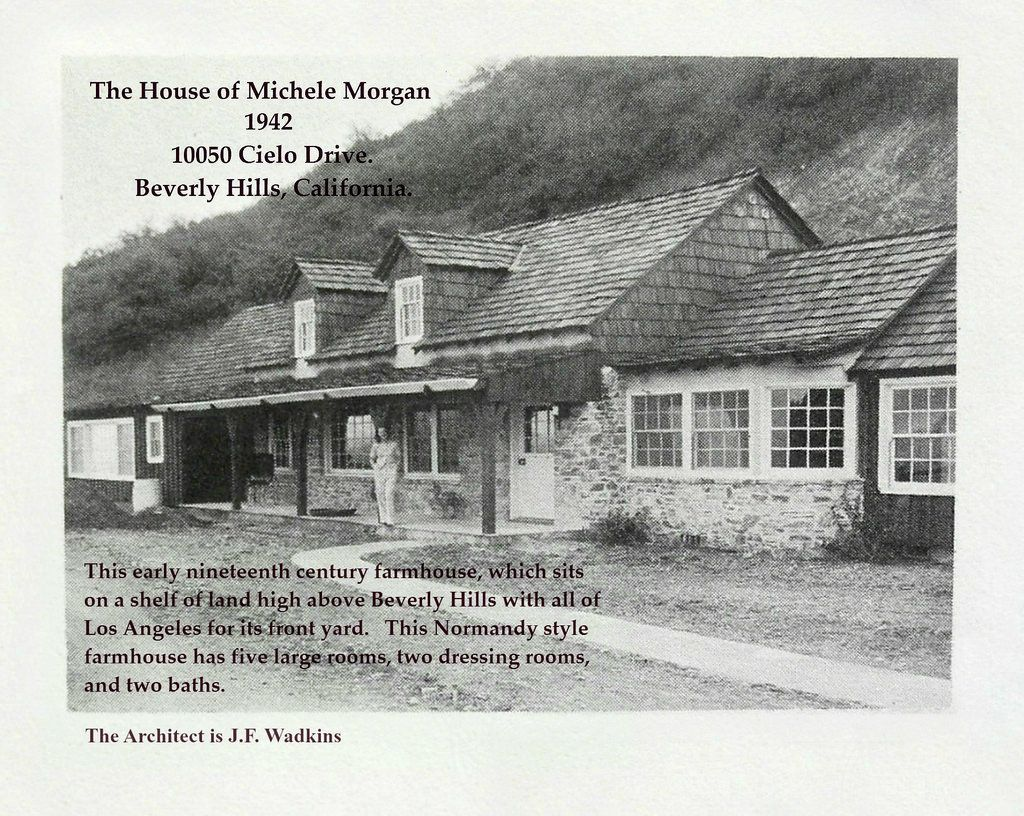 Michelle Morgan on the porch of her newly built house