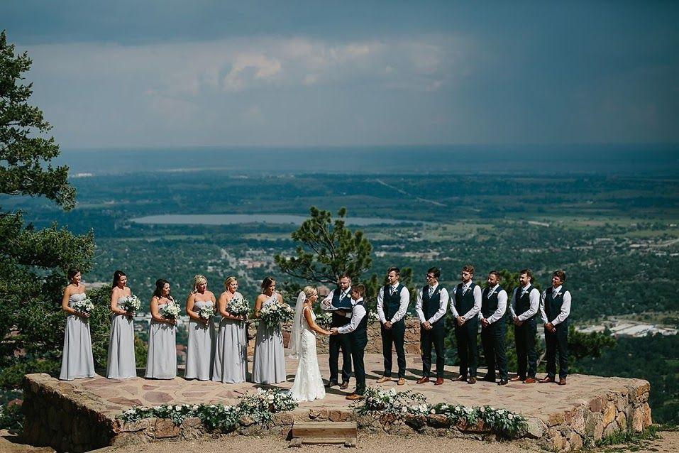 Sunrise Amphitheater Wedding Ceremony
