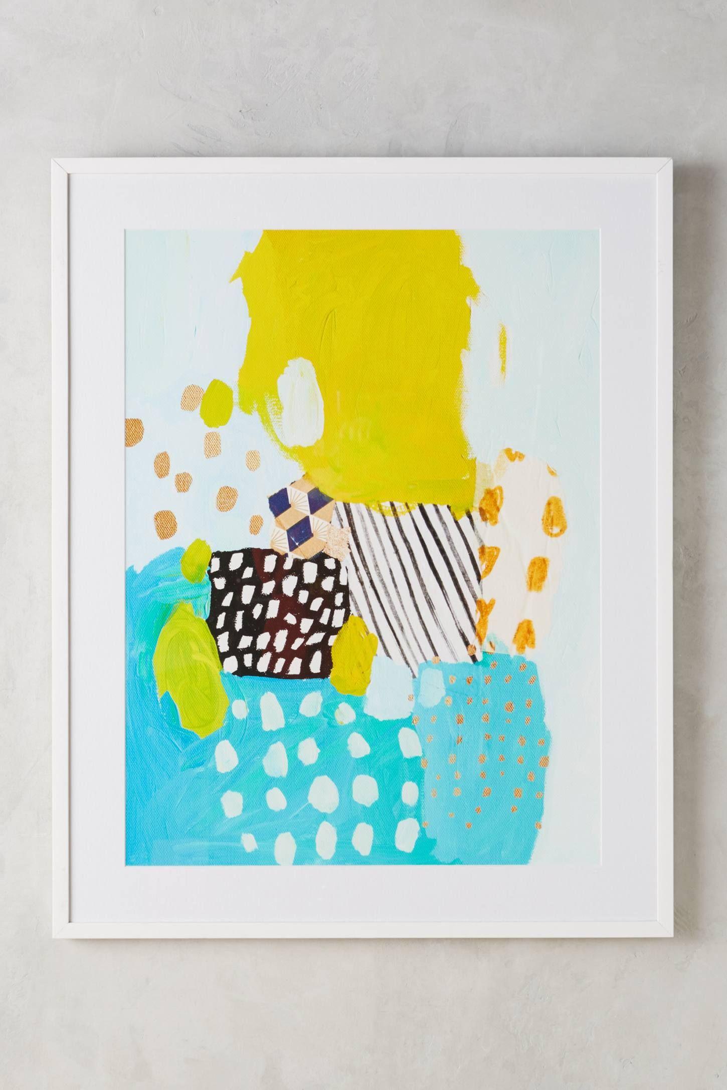 Eternal Optimist Wall Art | Art patterns, Printmaking and Paintings