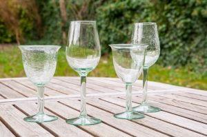 verres à vin en verre soufflé cadeaux artisanat Parfait, Bon Vin, Le Jolie, 09974420b9ef