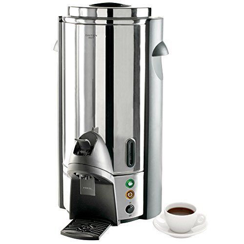 West Bend 33600 100 Cup Commercial Coffee Urn Stainless Steel Coffee Coffee Urn Stainless Steel Coffee Maker