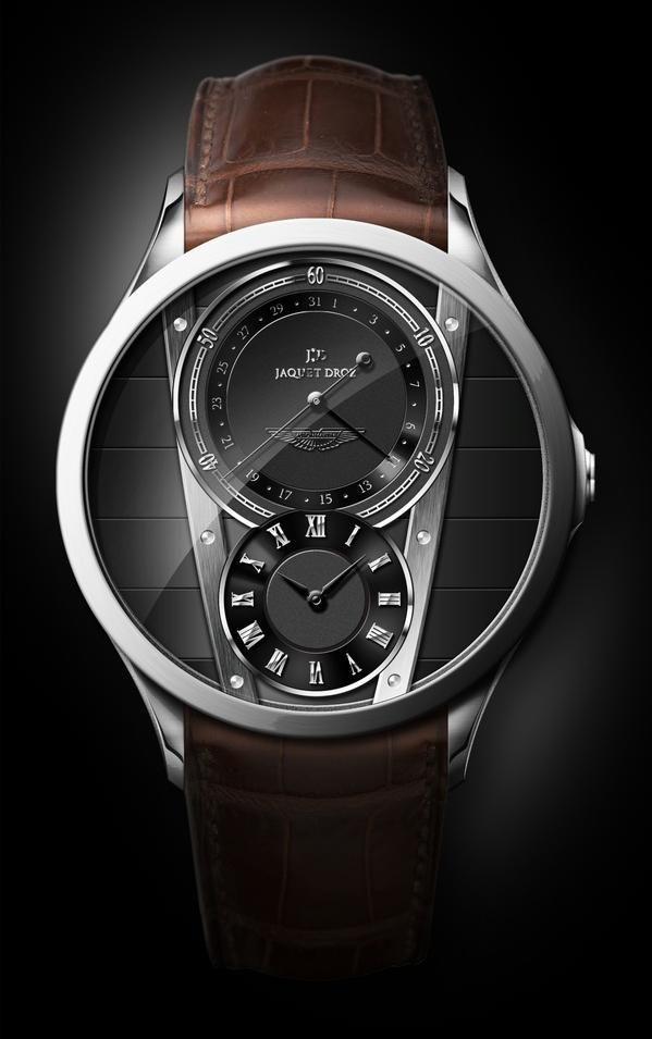 Jaquet Droz Aston Martin Phoenix Project Uhren Herren Lederuhren Uhren