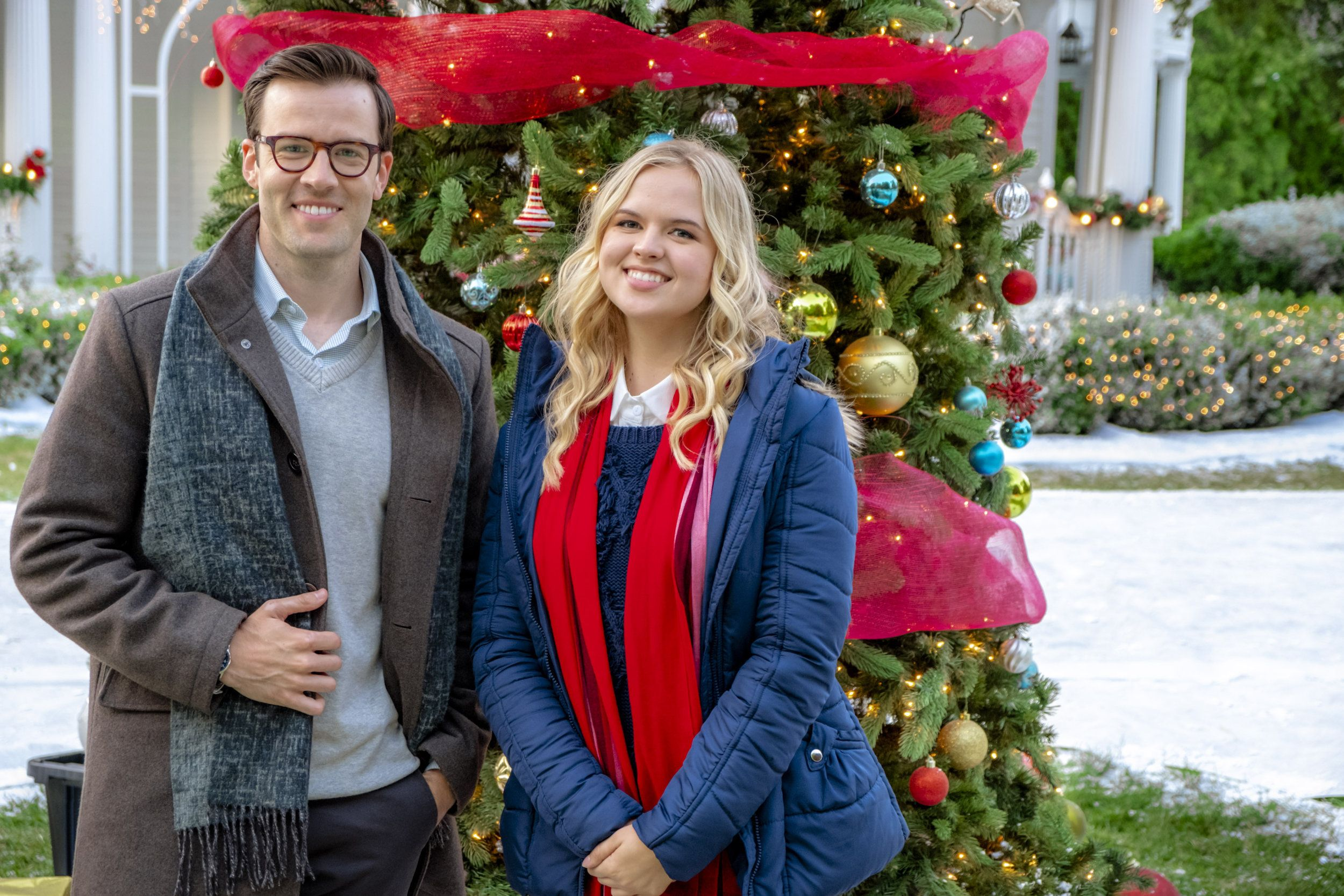 Christmas At Pemberley.Check Out Photos From The Hallmark Channel Movie Christmas