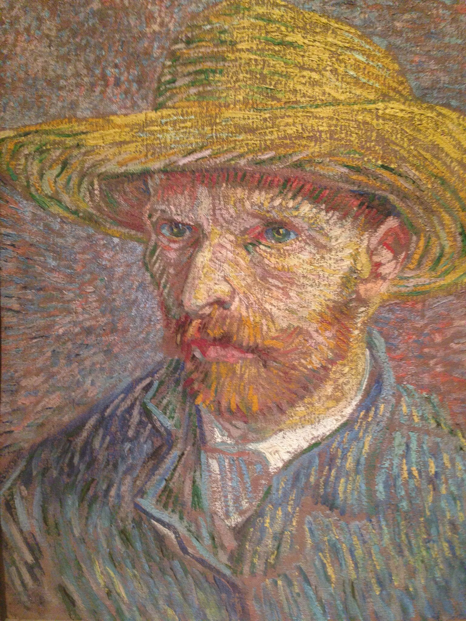 Autorretrato Van Gogh - MoMA, NYC | Art I have seen! | Pinterest