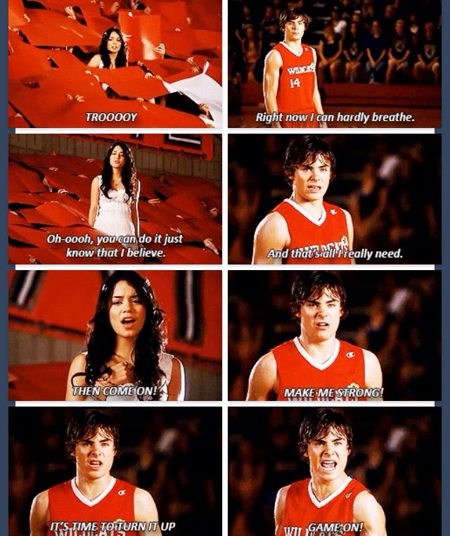 Hsm3 This Is The Best Part In This Movie Besides The I Just Wanna