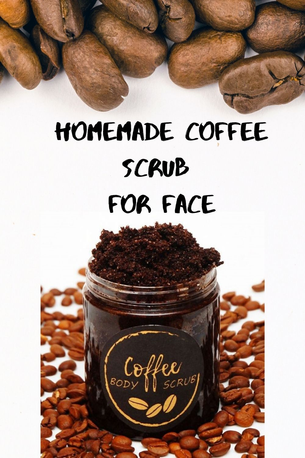 How to make your own homemade coffee scrub for face in