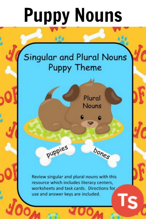Review singular and plural nouns with this resource which includes ...