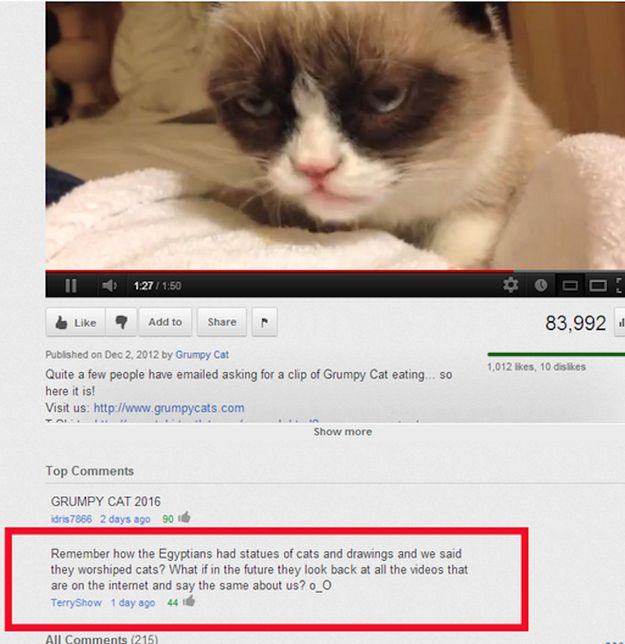 The 25 Funniest Youtube Comments Of The Year Funny Youtube Comments Funny Comments Funny Commercials