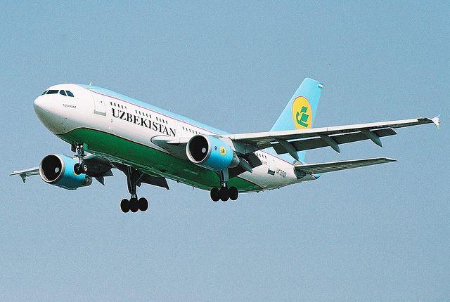 """Uzbekistan Airways - UK31001"" by Andrew_Simpson, via Flickr"