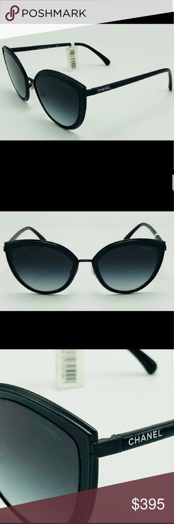 98116f484d0b ❤❤NWT MATTE BLACK CHANEL SUNGLASSES ❤❤ NWT CHANEL Accessories Sunglasses