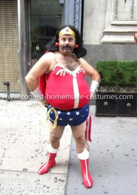 Wonder Woman Funny Halloween Costumes I made this costume just for the fun of it and to make people laugh. I have worn it on Halloween and in several ...  sc 1 st  Pinterest & Coolest Fat Wonder Woman Costume | Costumes and random clothes ...