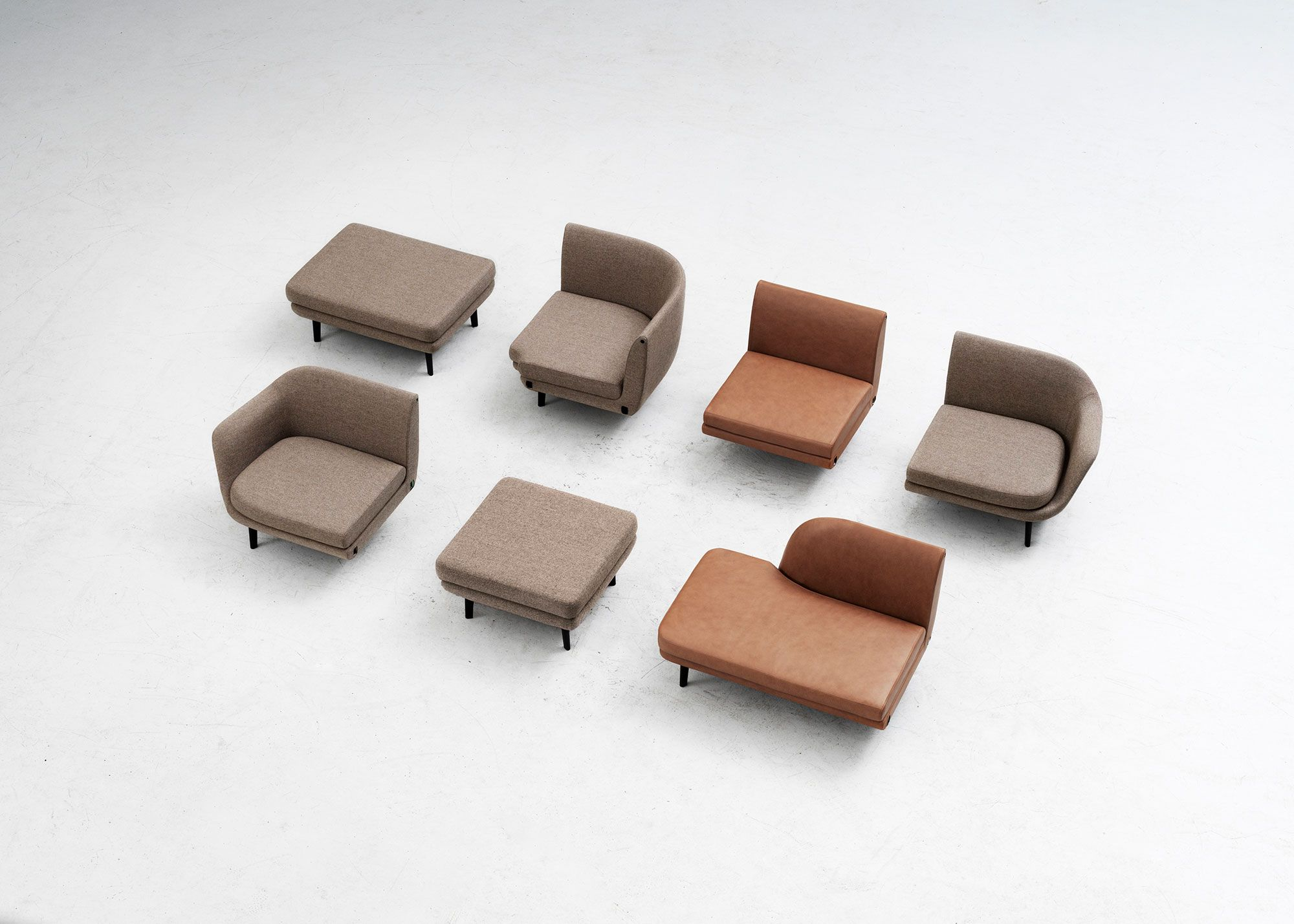 Choose Between Different Elements To Build Your Own Dream Sofa Sum Modular Sofa By Normann Copenhagen Modular Sofa Customised Sofa Sofa Design