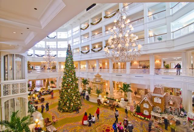 Image result for disney contemporary resort christmas tree
