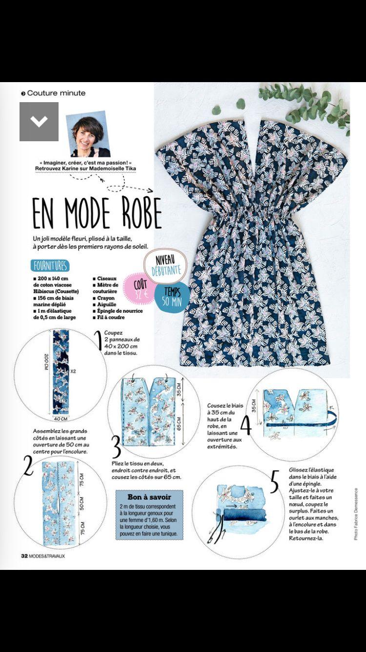Epingle Par Charlotte Guilbaut Sur Couture Couture Tutoriel Tuto Couture Robe Couture Facile Robe