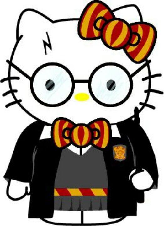 Harry potter hello kitty