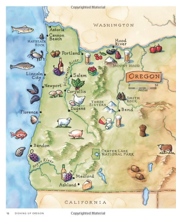 Southeast Oregon Map Oregon ! This map left off Eastern Oregon which is beautiful as