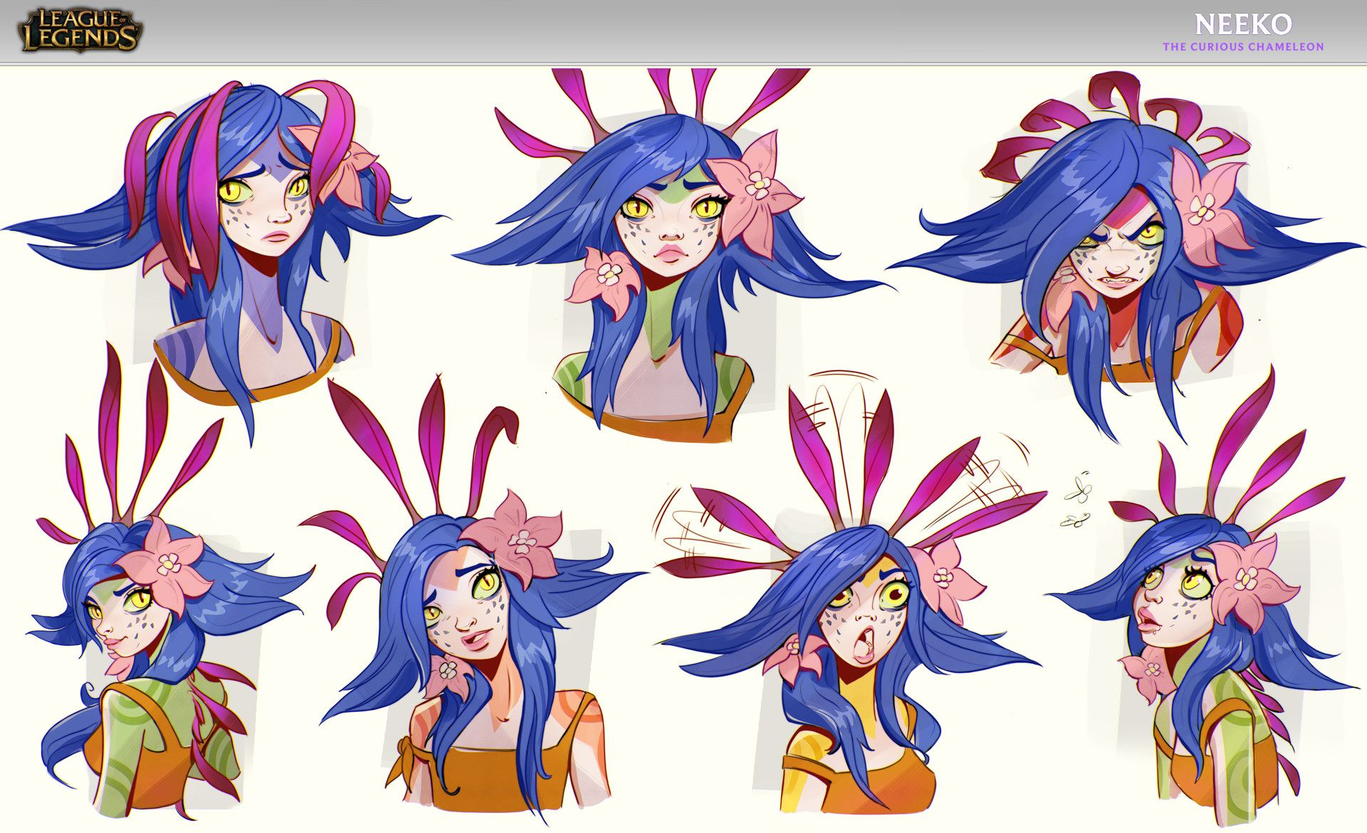 Neeko Concept Lol Wallpapers League Of Legends Characters Concept Art Drawing Champions League Of Legends
