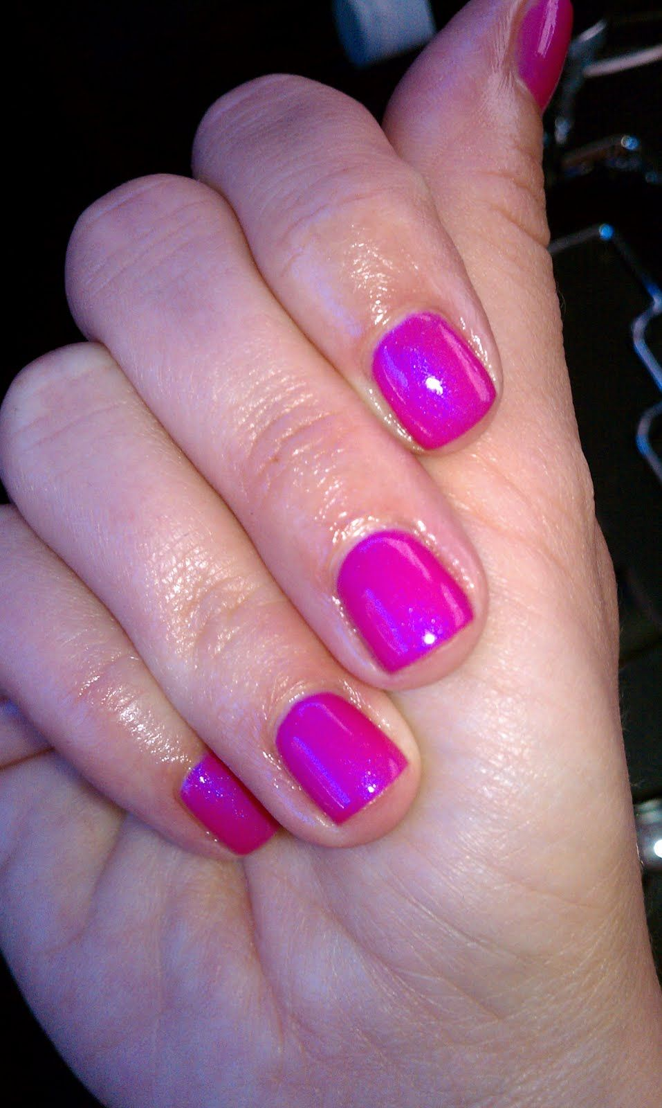 new shellac nail polish, i want to have this done for my sisters