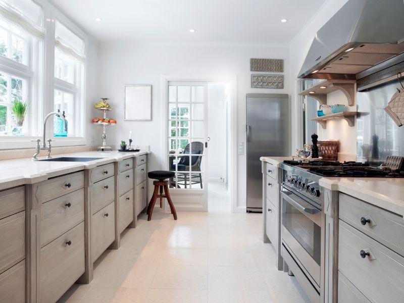Corridor Kitchen Layout