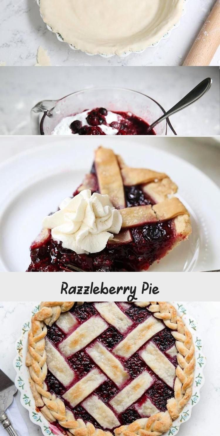 Homemade Razzleberry Pie – One of my all time favorite pies! Filled with 3 different types of ber