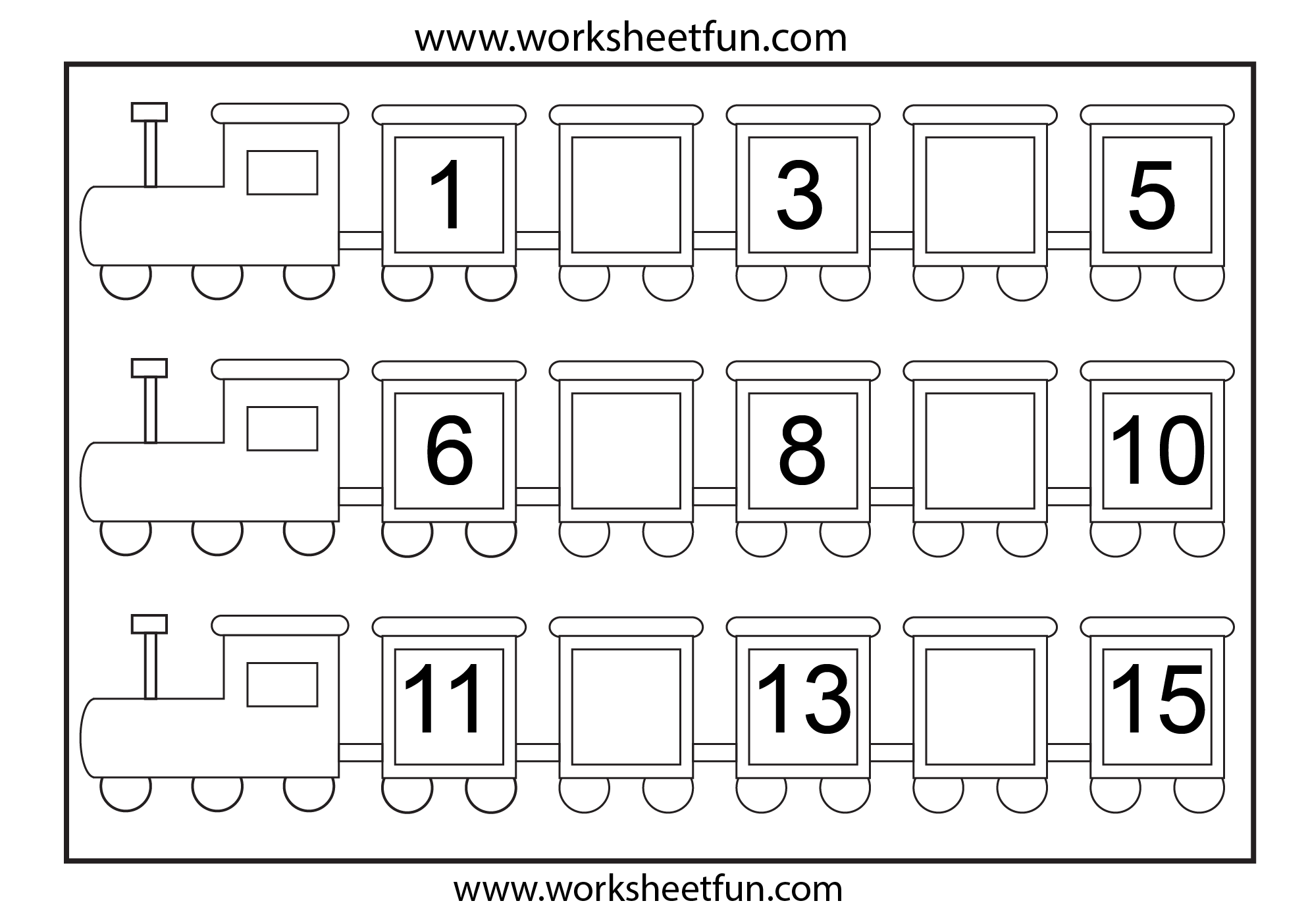 Worksheet 612792 Missing Numbers Worksheets for Kindergarten – Numbers Worksheets