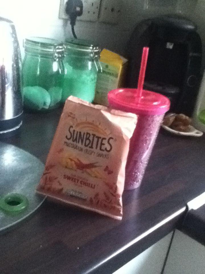 Nice little snack xx
