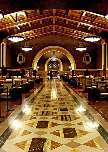 Union Station Los Angeles Union Station Los Angeles Architecture Places In California