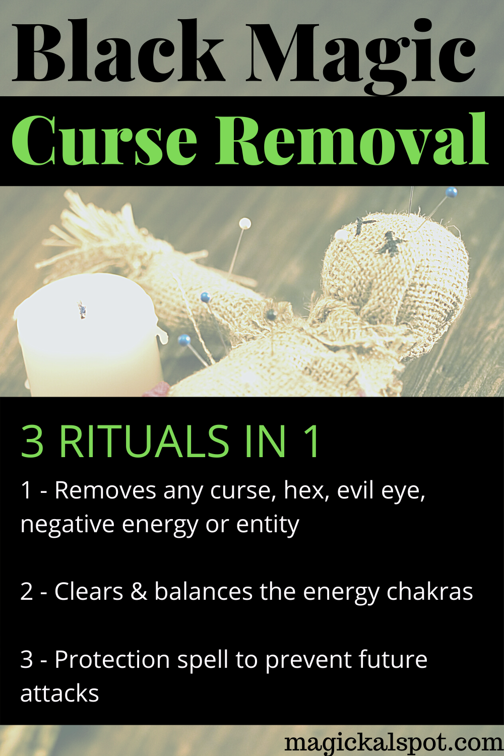 Black Magic Curse Removal Spell Casting by Tina Caro