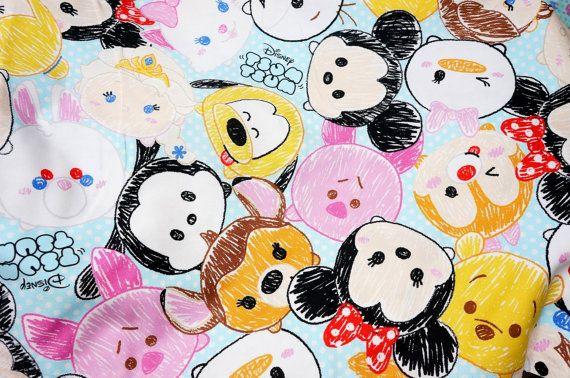 Cómo Dibujar Olaf En La Versión Disney Tsum Tsum: 1 Meter Disney Character Disney Fabric Tsum Tsum Print