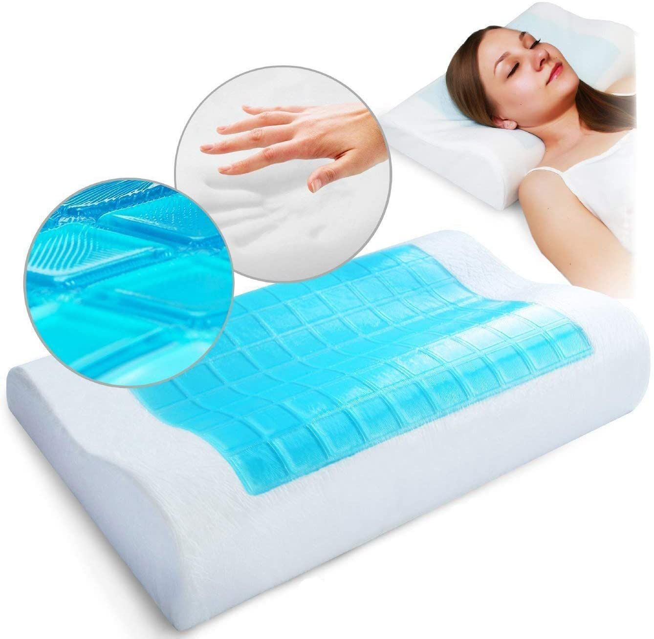 Top 5 Best Pillow For Neck Arthritis In India In 2020 Cervical Pillows Memory Foam Pillow Foam Pillows