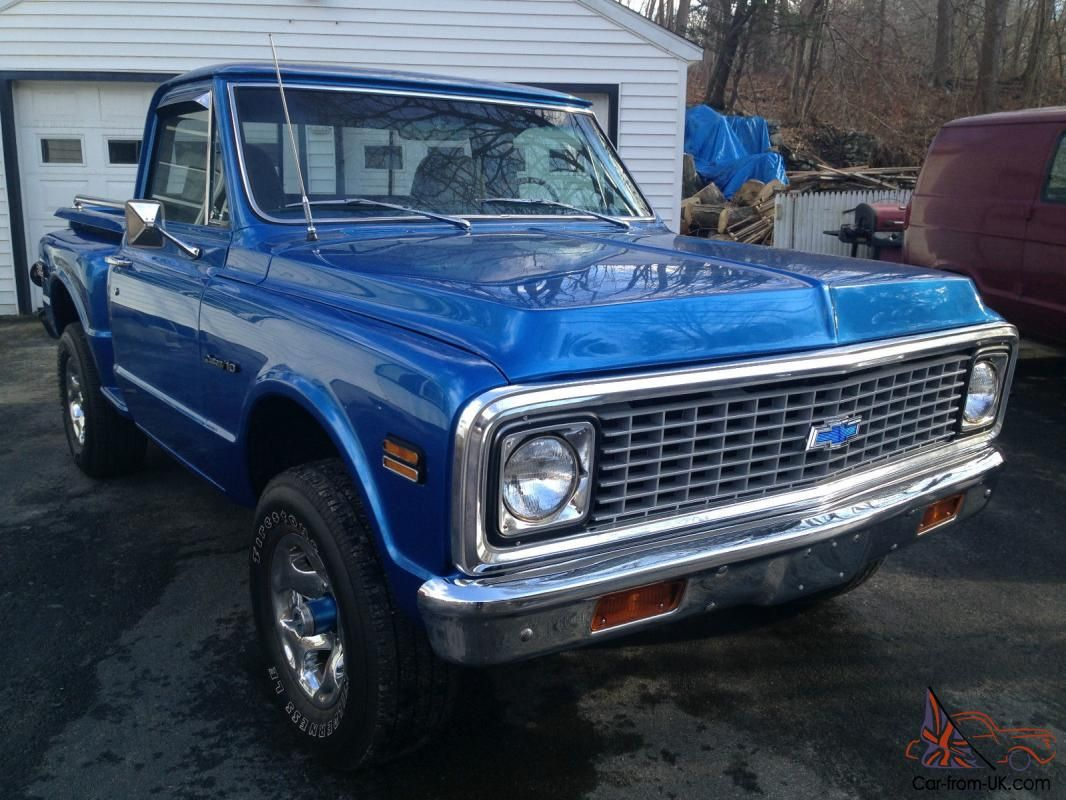 Is This Truck Still For Sale 1969 Chevy C 10 Short Bed Step Side 4x4 Chevy 4x4 Chevy Chevy Trucks